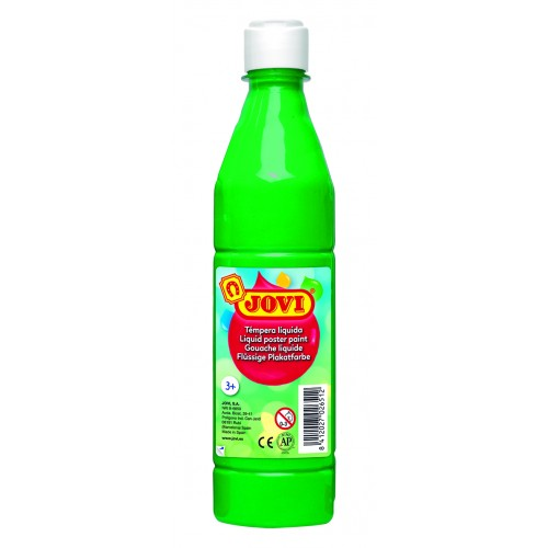 Tempera lichida verde deschis 500 ml/sticla Jovi