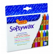 Creioane cerate Soft 24 culori/set Jovi Softywax