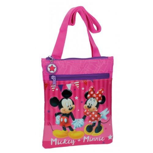 Geanta de umar 24 cm Mickey & Minnie Party