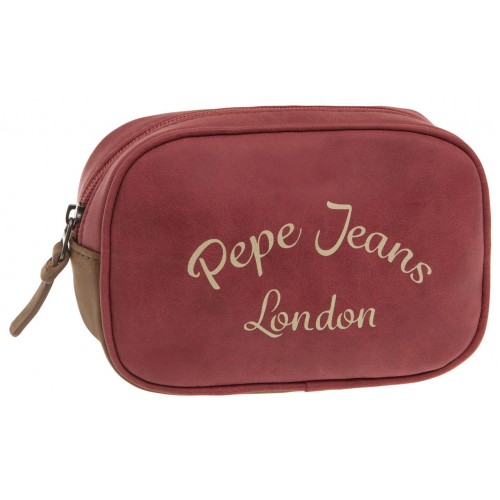 Borseta 2 compartimente 17 cm rosu Pepe Jeans Original