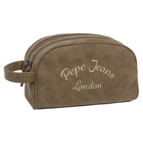 Borseta 2 compartimente 26 cm bej Pepe Jeans Original