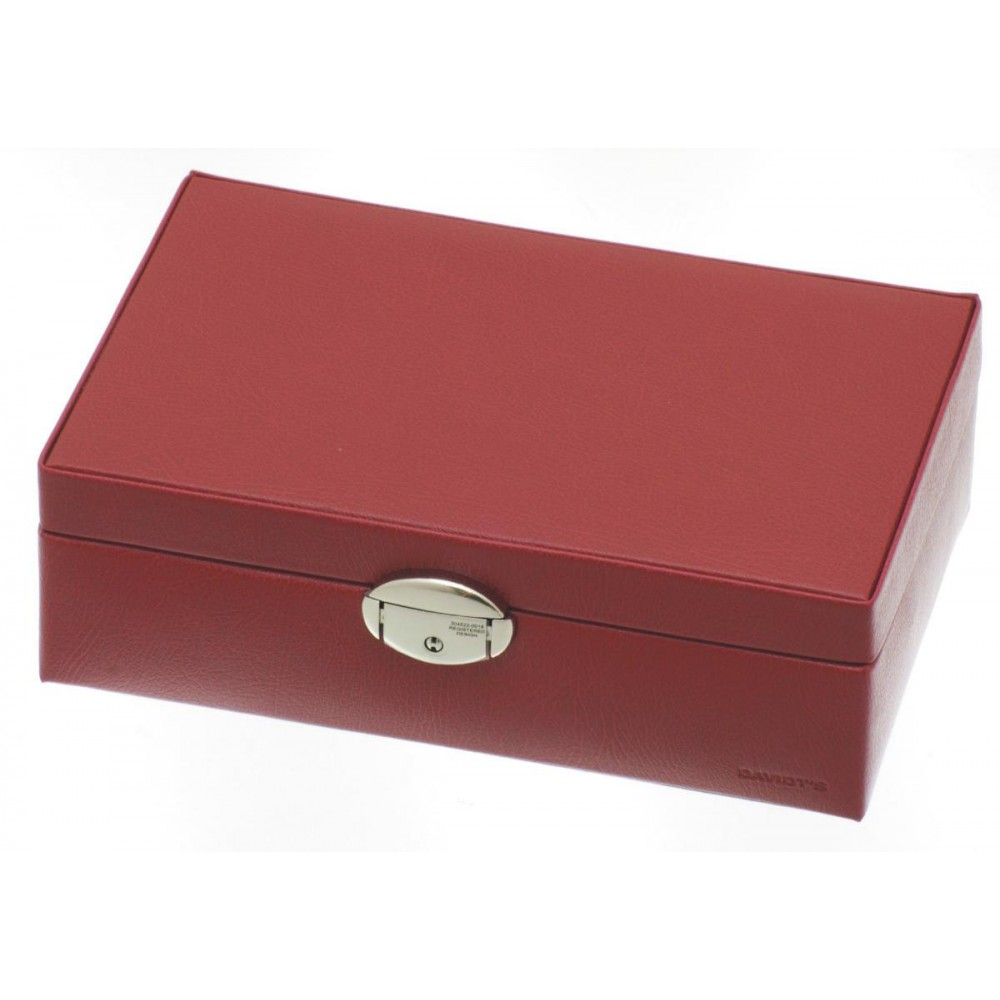 Caseta de bijuterii Davidts Euclide rosie