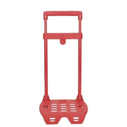 Mini-Suport ghiozdan pentru gradinita 26 cm rosu