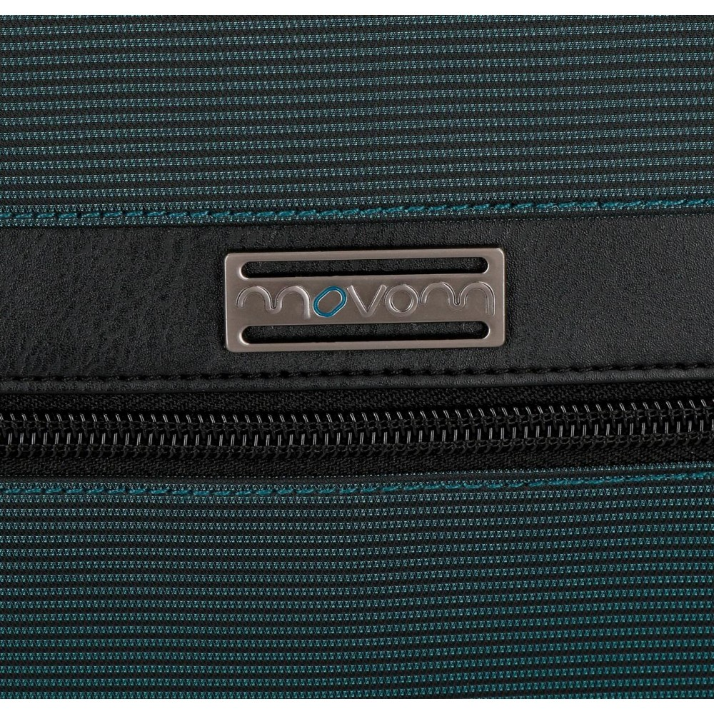 Geanta mana barbati, albastra Movom Business, 24.5x15x6 cm
