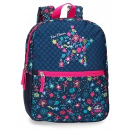 Rucsac 32 cm Movom Nice Flowers
