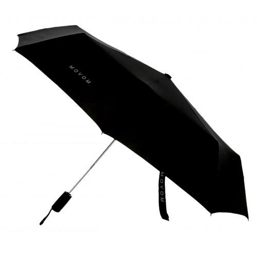 Umbrela automata pliabila maner drept neagra Movom Daryl