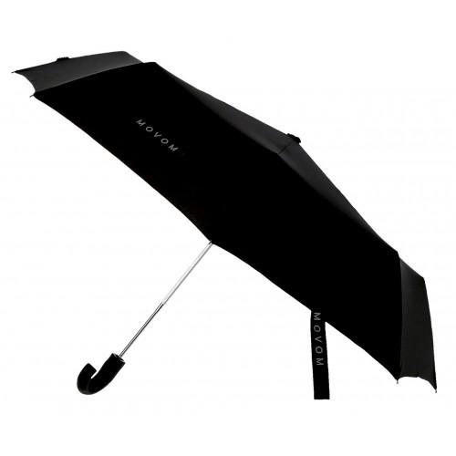 Umbrela automata pliabila maner curbat neagra Movom Daryl