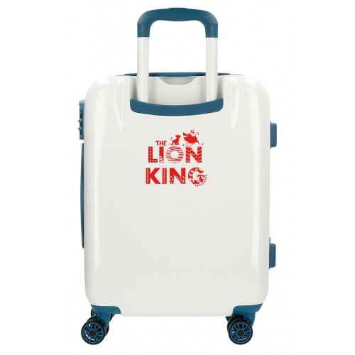 Troler ABS 55 cm 4 roti The Lion King albastru