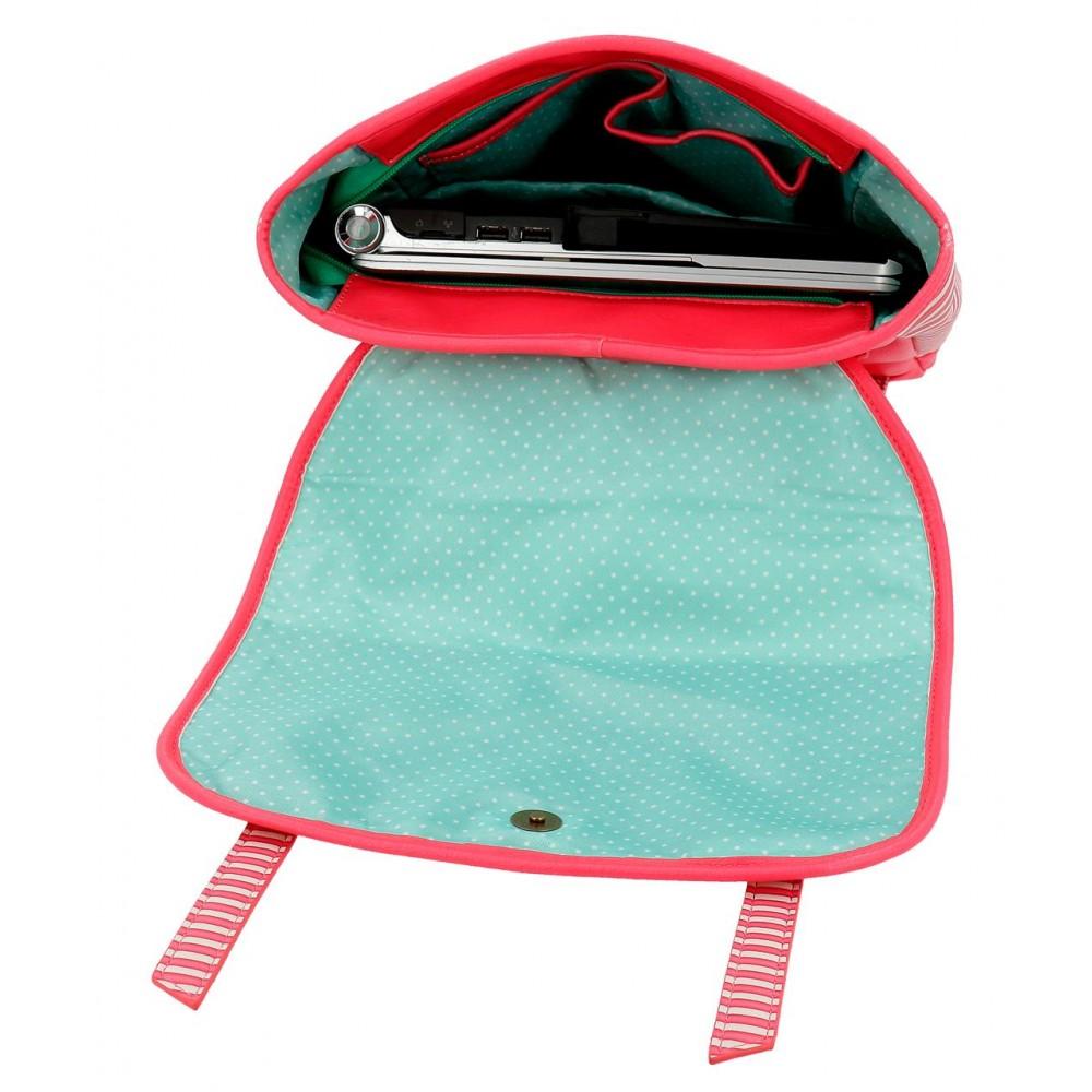 Rucsac scoala fete, compartiment laptop Gorjuss Every Summer, 29x38x9 cm