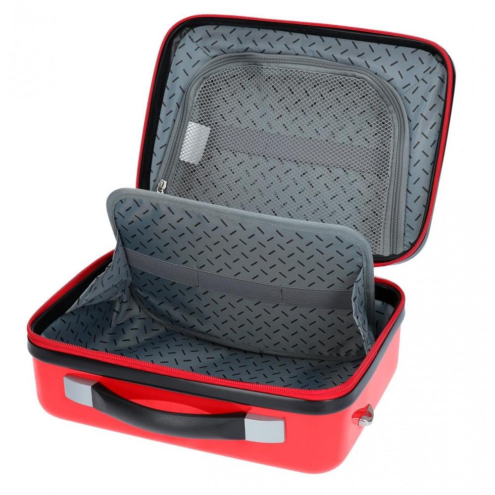 Valiza calatorie adaptabila copii ABS Mickey Magic Only One, 21x29x15 cm