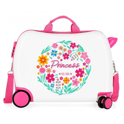 Valiza calatorie ABS 50 cm Roll Road Little Me Princess