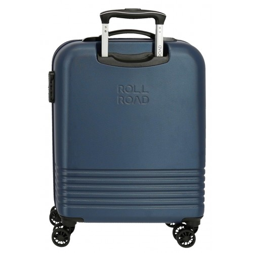Troler ABS 55 cm 4 roti Roll Road India bleumarin