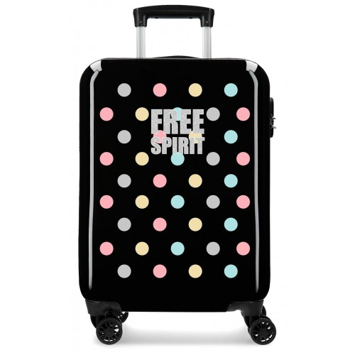 Troler cabina ABS 55 cm Movom Free Dots