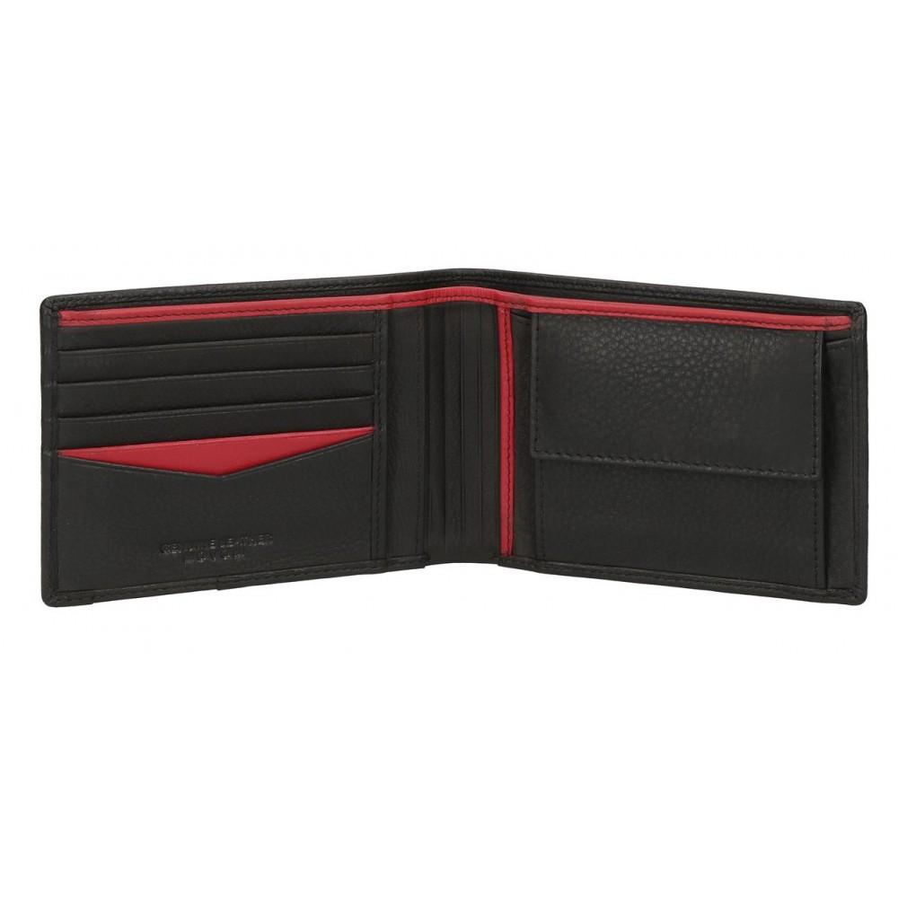 Portofel barbati, orizontal negru Movom Tablet, 12.5x9.5x1 cm