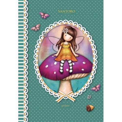 Notebook A5 dictando Gorjuss