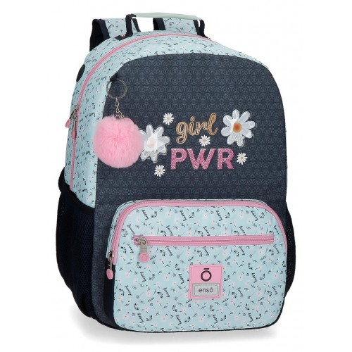 Ghiozdan compartiment laptop 42 cm Enso Girl Power