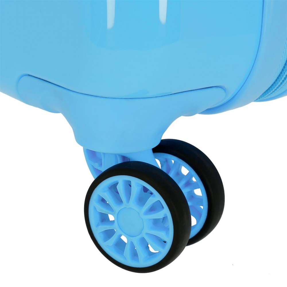 Troler copii, cabina, ABS Love Minnie albastru, 55x38x20 cm