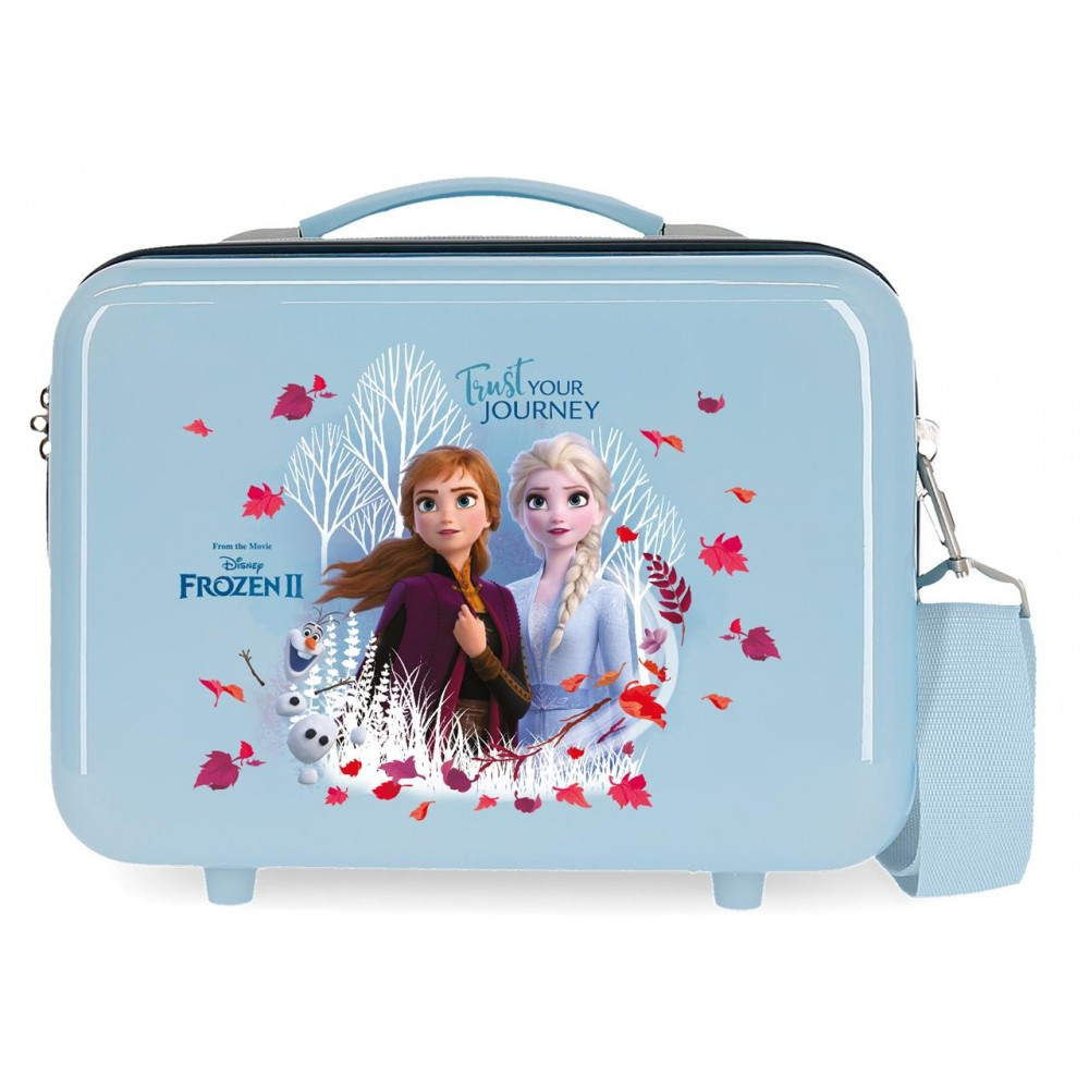 Geanta cosmetice fete, ABS Frozen 2 Trust Your Journal, 29x21x15 cm