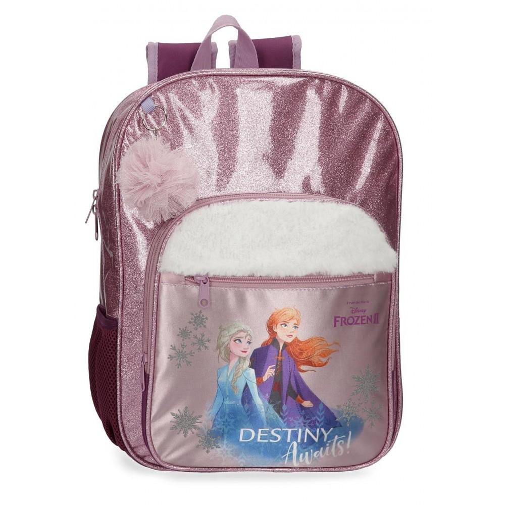 Ghiozdan scoala fete Frozen 2 Destiny Awaits, 30x38x12 cm