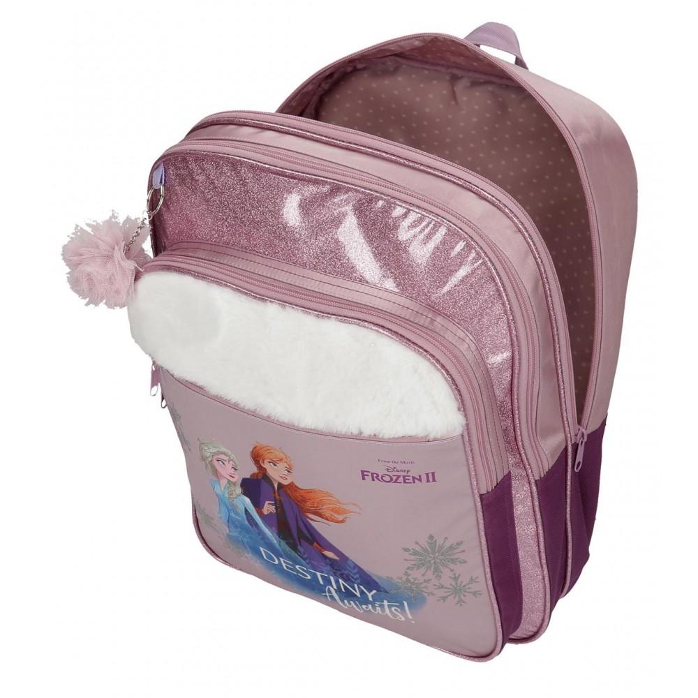 Ghiozdan scoala adaptabil, fete Frozen 2 Destiny Awaits, 32x42x15 cm