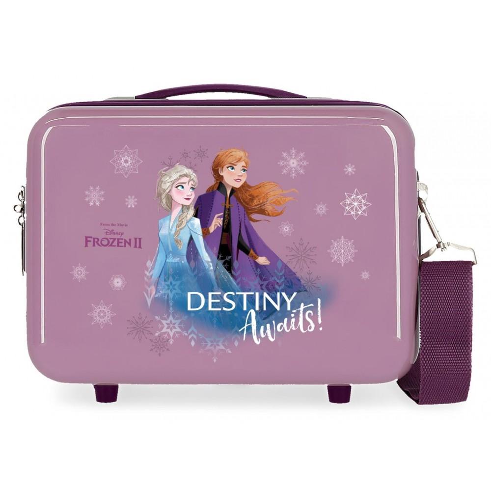 Geanta cosmetice fete, ABS Frozen 2 Destiny Awaits, 29x21x15 cm