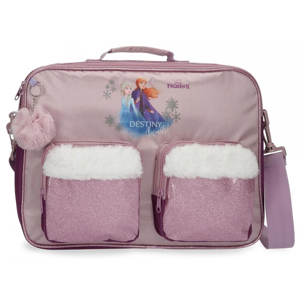 Geanta scoala fete Frozen 2 Destiny Awaits, 38x28x6 cm