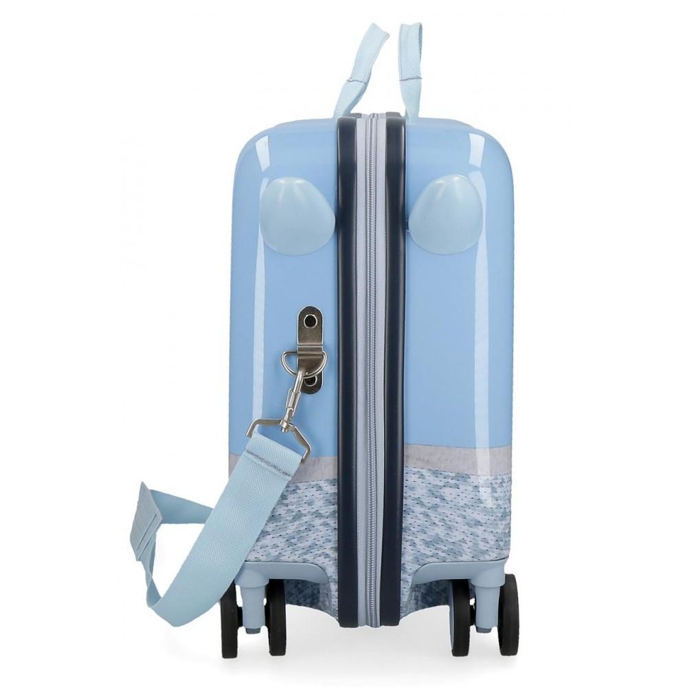 Valiza calatorie copii albastra Frozen 2 Destiny Awaits, 38x50x20 cm