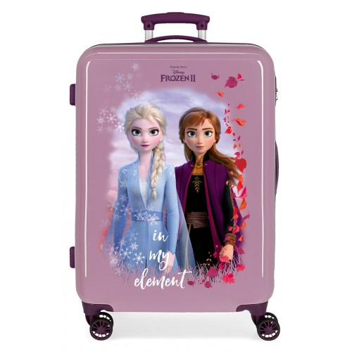 Troler ABS 64 cm mov Frozen 2 Nature is Magical