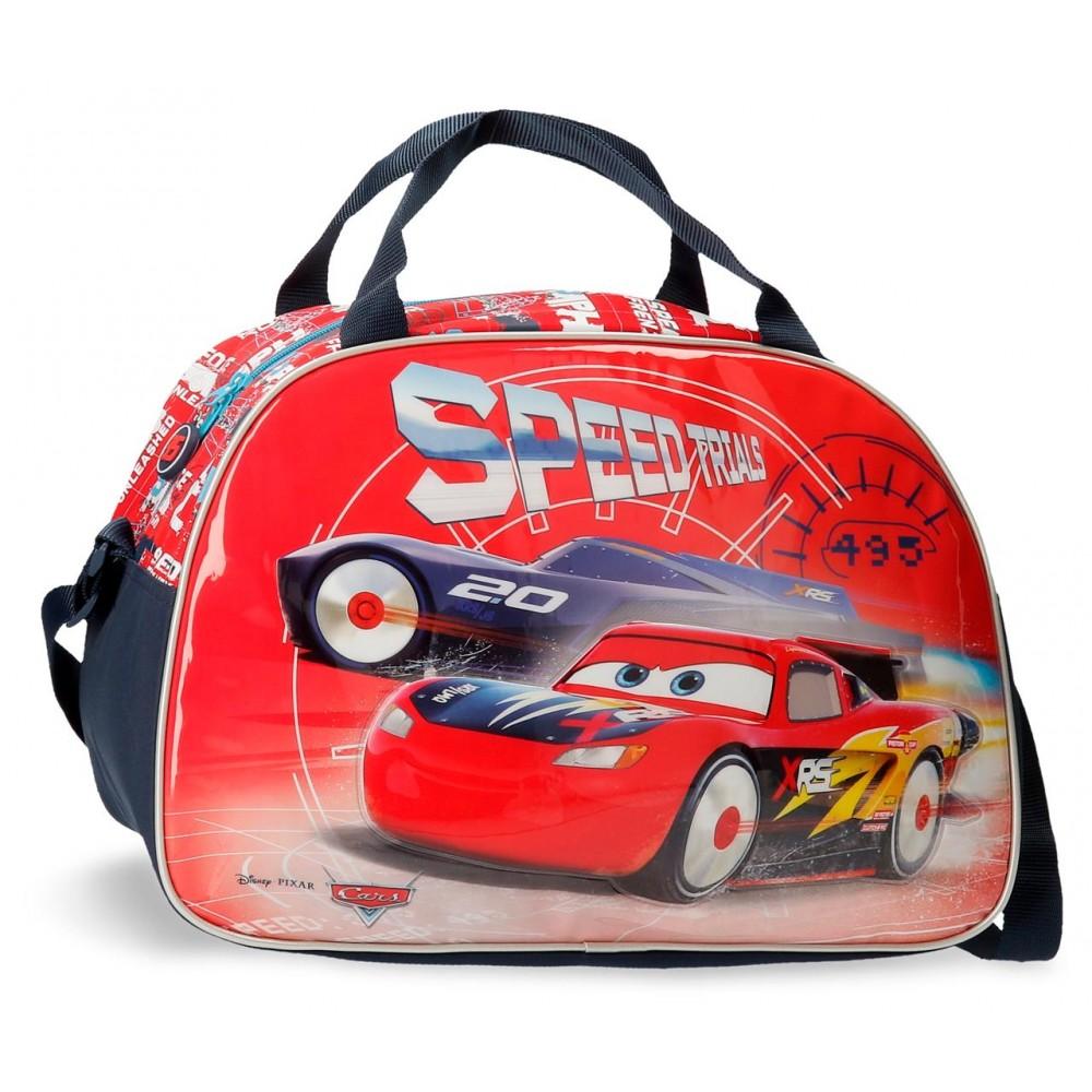 Geanta voiaj Cars Speed Trials, 28x40x22 cm