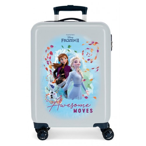 Troler ABS 55 cm, 4 roti, Awesome Moves Frozen 2