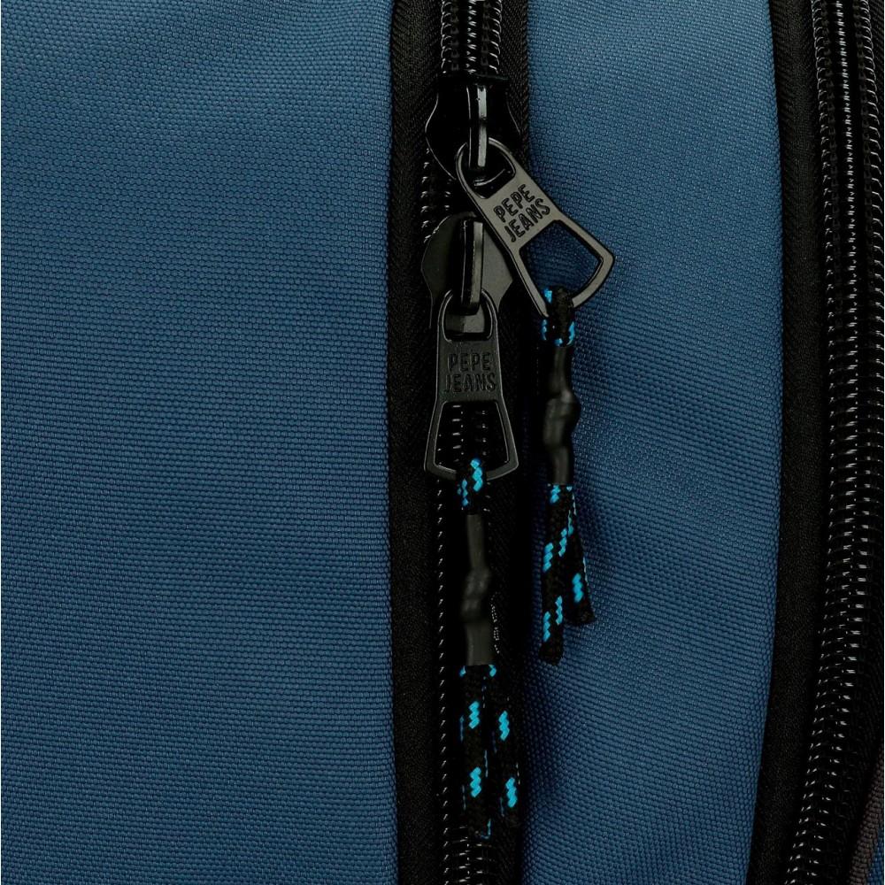 Rucsac/Troler 2 roti Pepe Jeans Skyler, 32x43x21 cm
