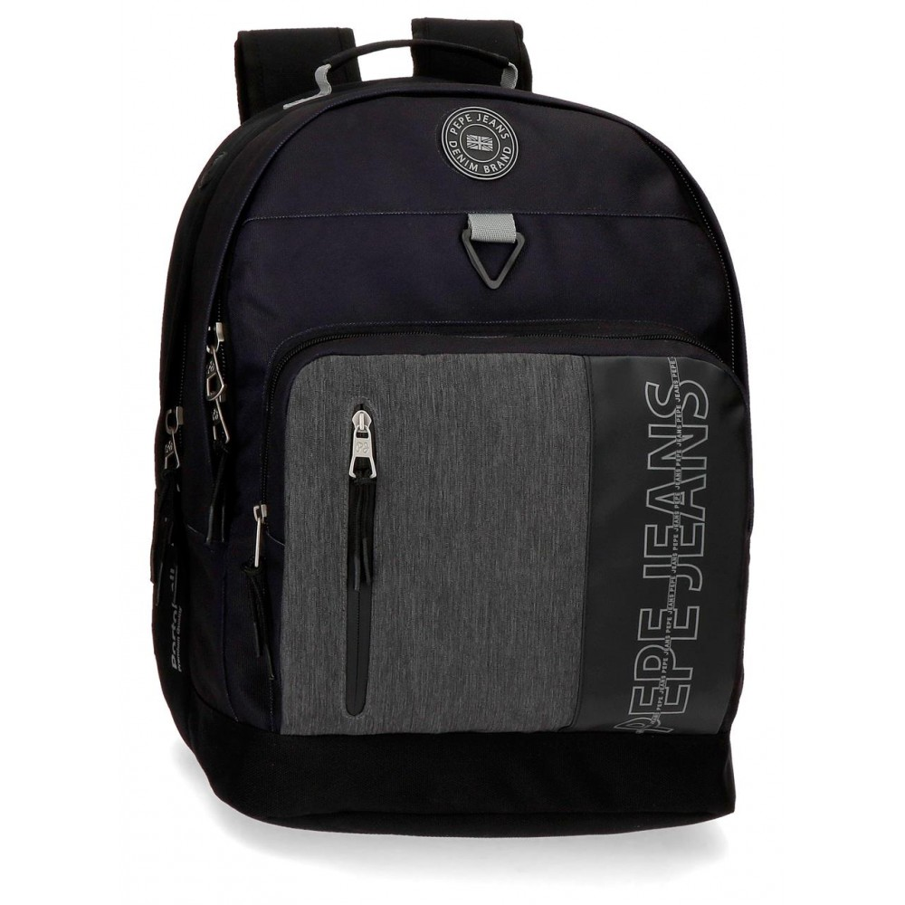Rucsac laptop, 2 compartimente Pepe Jeans Ason, 32x44x21 cm