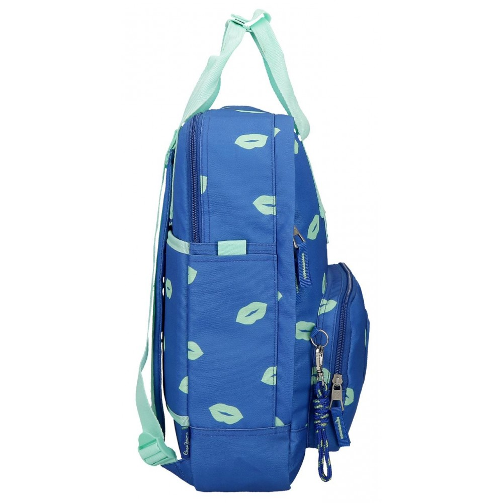 Rucsac casual, compartiment laptop Pepe Jeans Ruth, 30x40x13 cm