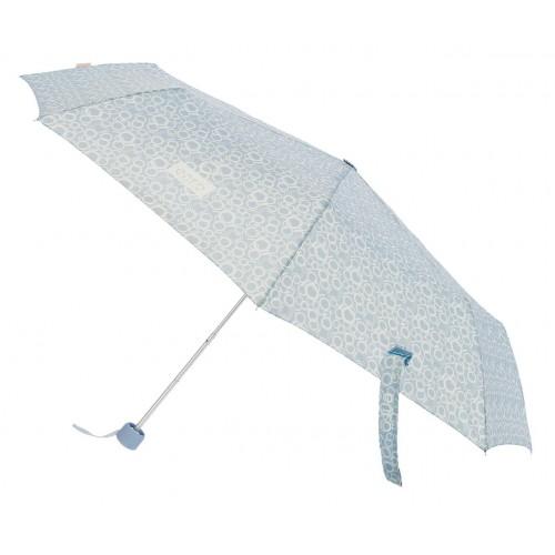 Umbrela pliabila manuala Enso Mess bleu