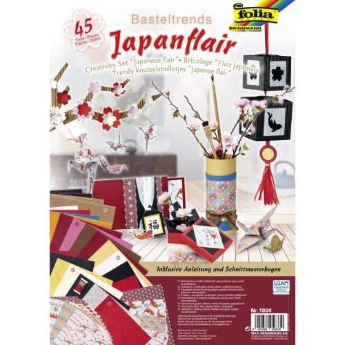 Set creativ Japanese Flair, 45 piese Folia