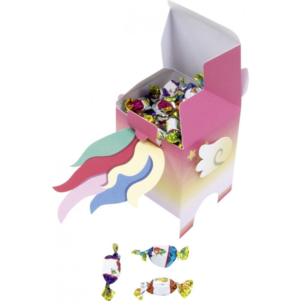 Set creativ cu forme pretaiate, pentru 8 cutii, Folia