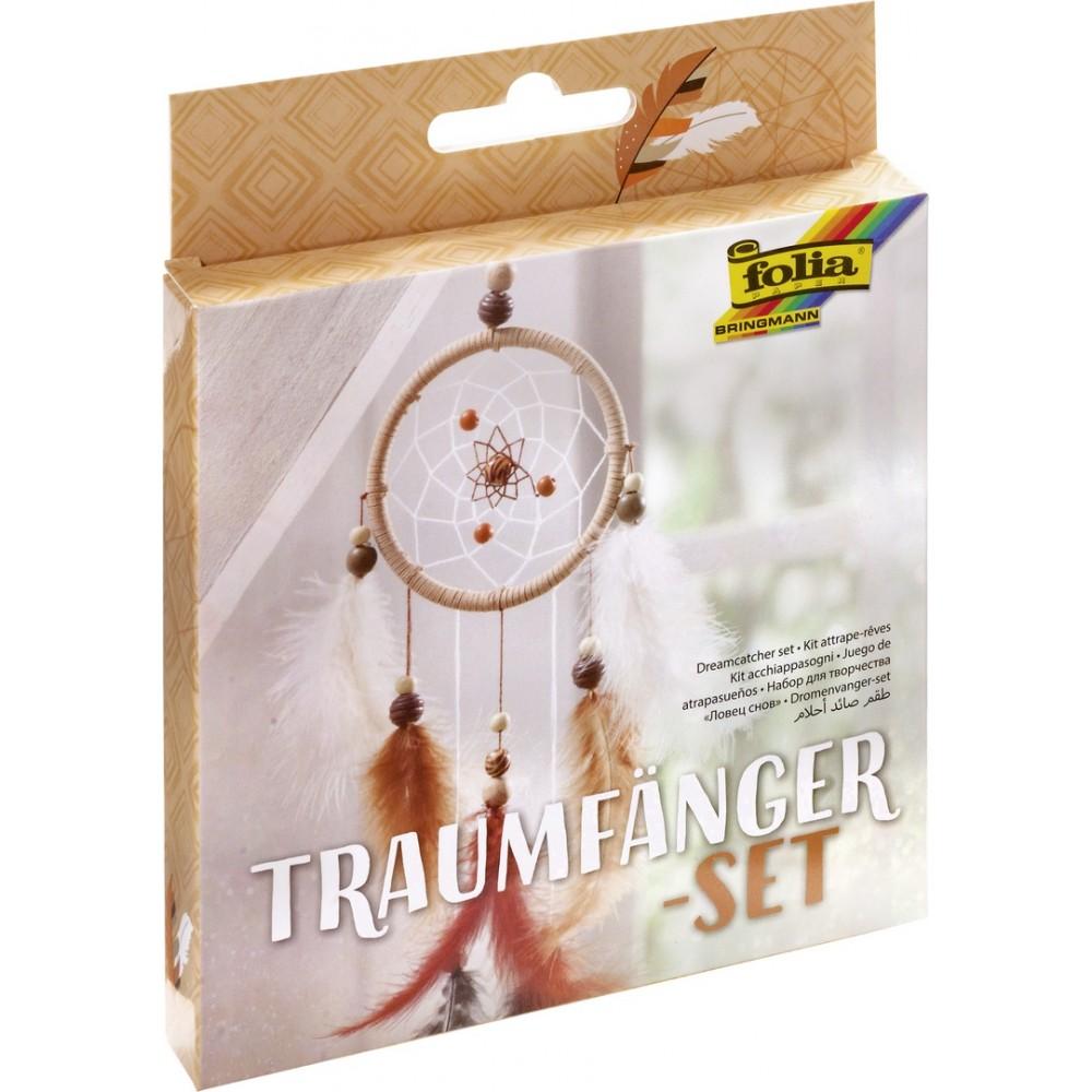 Kit bricolaj Dreamcatcher Ethno, Folia