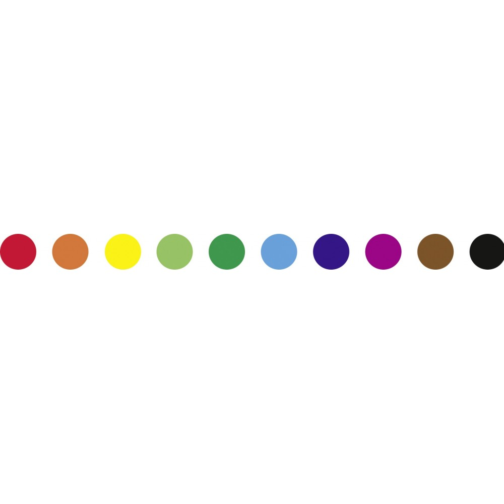 Markere cu doua capete, Dual Tip, 10 culori asortate, Folia