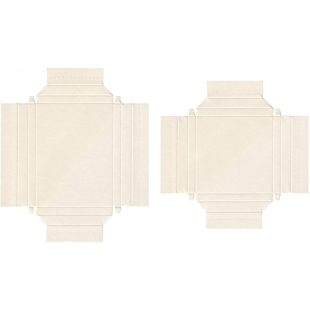 Rama din carton, set 8 bucati, 4 culori x 2 dimensiuni, Folia