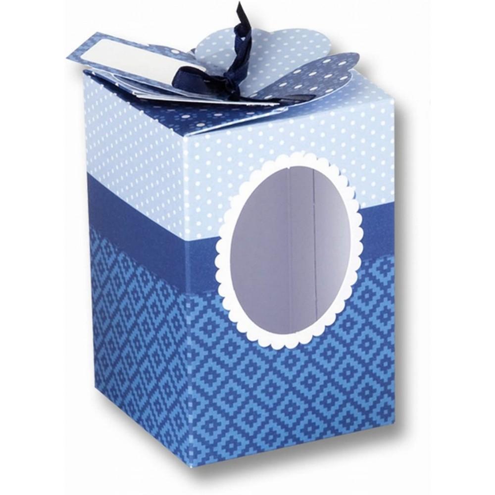 Set creativ cutii pentru cadou, set 9 bucati Folia