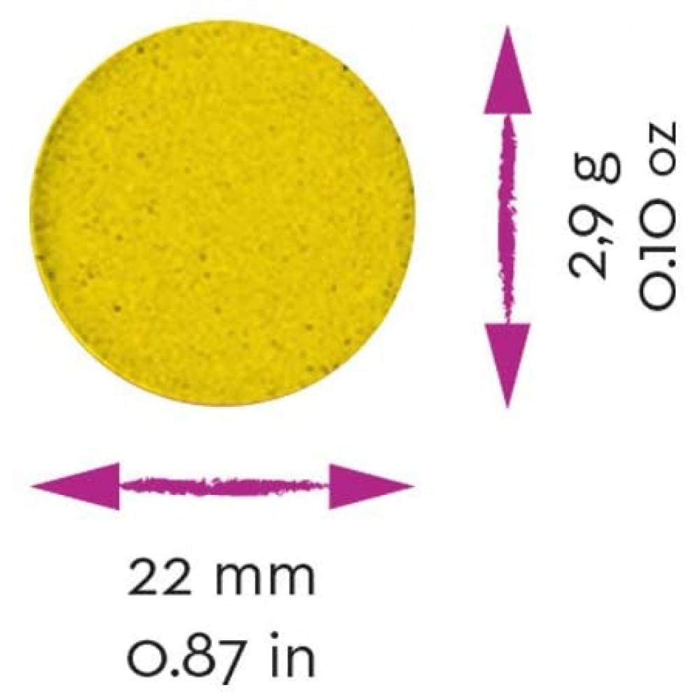 Acuarele 12 culori/set (22 mm diametru)+ pensula Jovi