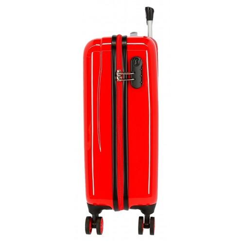 Troler cabina ABS rosu 55 cm Cars Champ