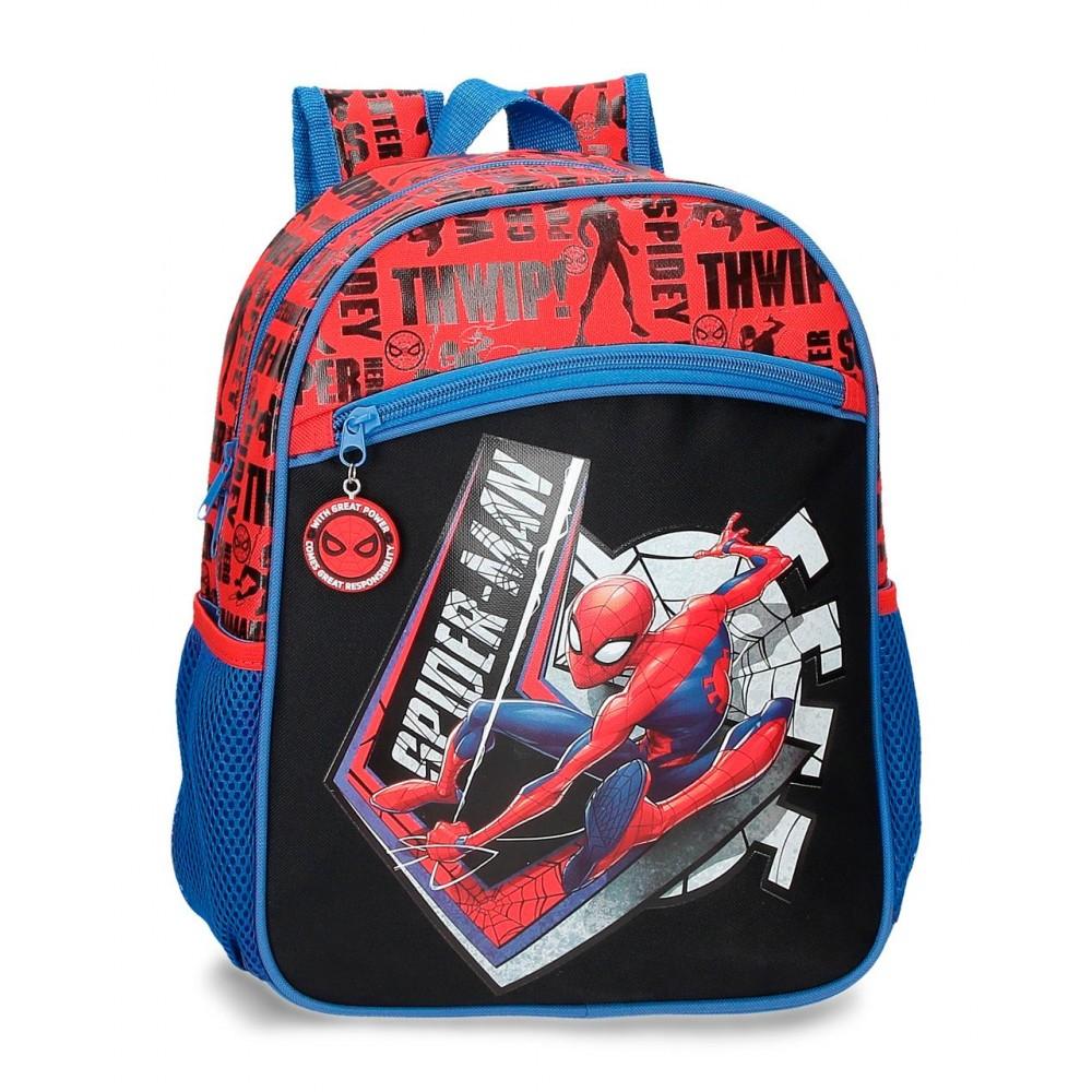 Ghiozdan clasa 0, Spiderman Great Power, 27x33x11 cm