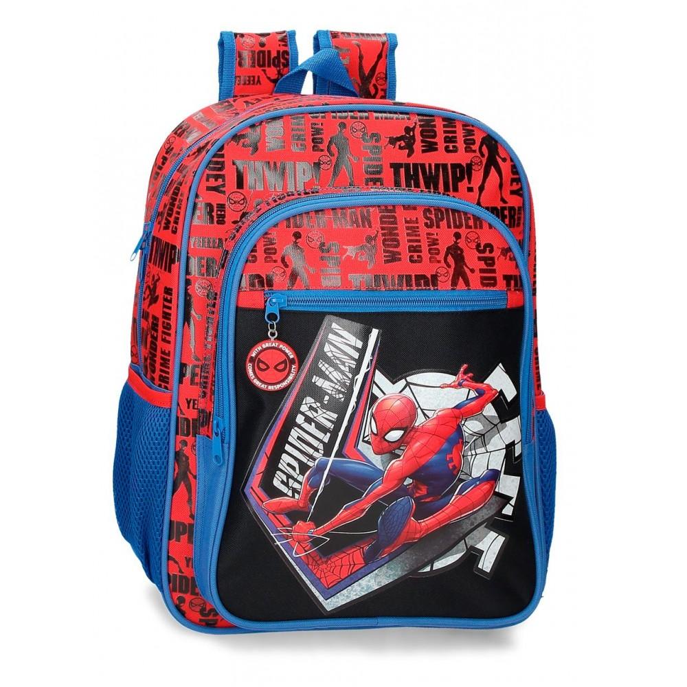 Ghiozdan scoala baieti Spiderman Great Power, 30x40x13 cm