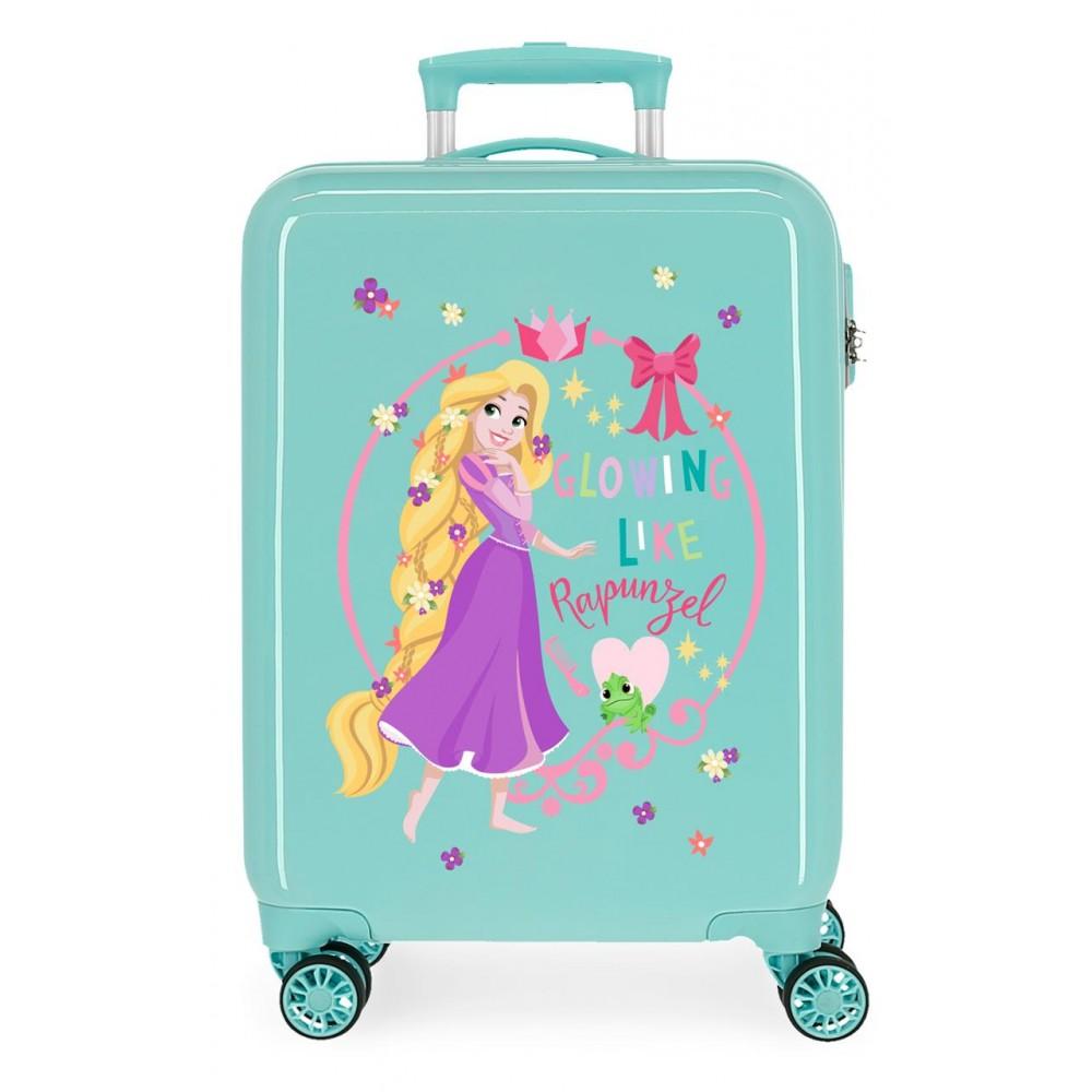 Troler copii, cabina, ABS Princess Celebration Rapunzel, 55x38x20 cm