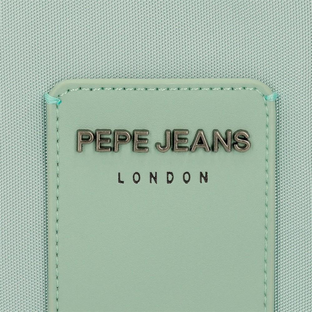 Geanta umar dama Pepe Jeans Mia, turcoaz, 30x26x11 cm