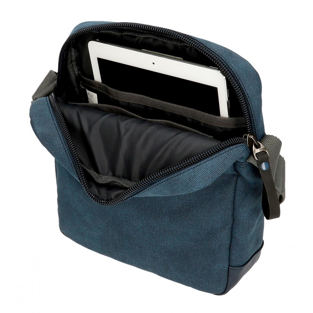 Geanta umar barbati, compartiment tableta Pepe Jeans Vivac, 23x27x7 cm