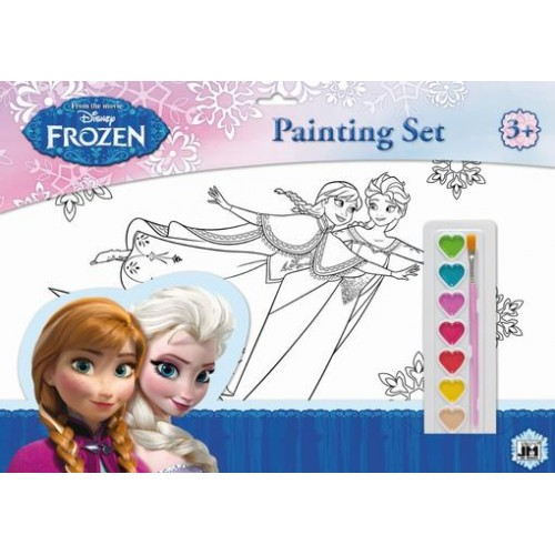 Set coloriaj A3 Frozen