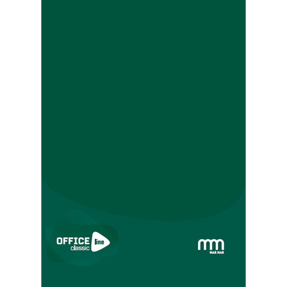 Registru A5 96 file 60g / coperta carton 1.5 mm matematica