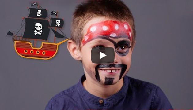 Cum sa faci un machiaj pirat pentru carnaval
